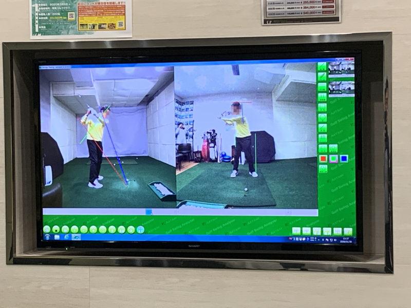 ゴルフパフォーマンスのスイング動画チェック