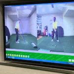 ゴルフパフォーマンスの映像チェック