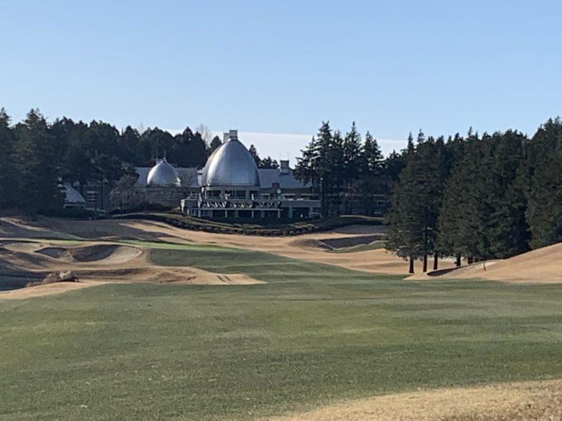 オールドオーチャードゴルフクラブの18番ホール